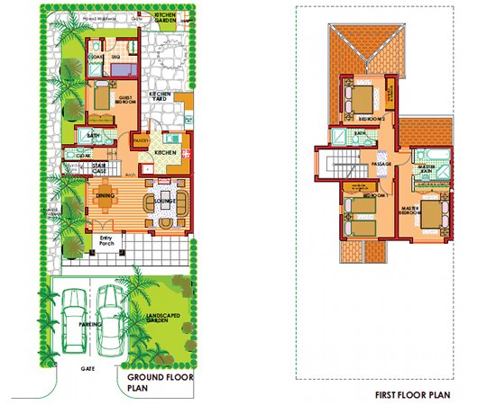 Bahati ridge photo gallery floor plans for Modern townhouse designs and floor plans